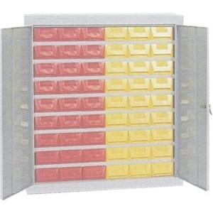 Cassettiera a 54 cassetti plastica P5 con porte