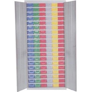 Cassettiera a 114 cassetti plastica P5 con porte