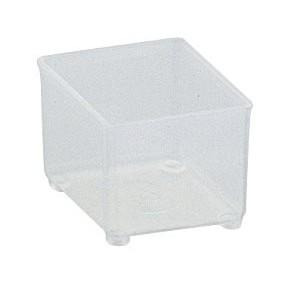 Vaschetta in plastica semitrasparente Class 4