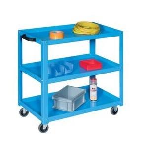 Carrello componibile a 3 piani - da 850x450xh.800 - Blu