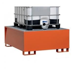 Vasca di raccolta per 1 cisterna da litri 1000 da L.1350xP.1650xH.640 capacità litri 1000