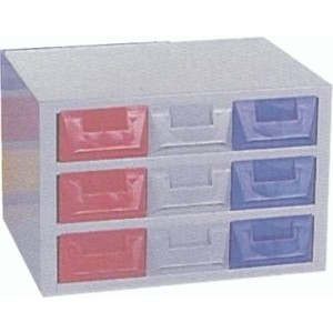 Cassettiera a 9 cassetti plastica P5