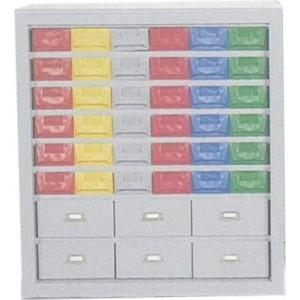 Cassettiera a 42 cassetti plastica/lamiera