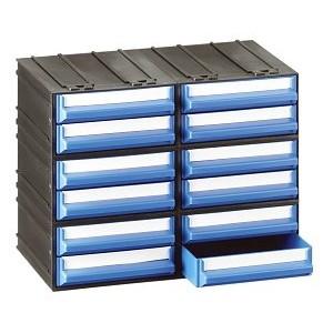 Cassettiera a 12 cassetti plastica VERDI