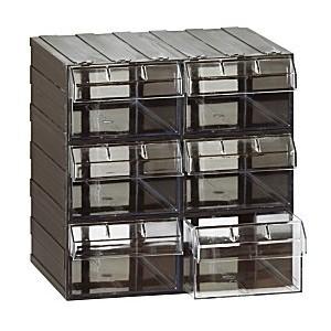 Cassettiera a 6 cassetti plastica TRASPARENTE