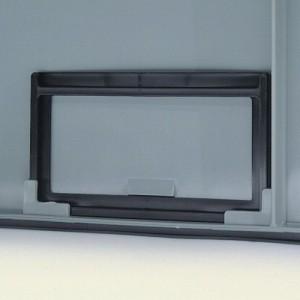 Porta etichette per contenitori Delta Mec - colore Nero