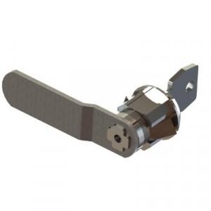 Ricambio serratura a cilindro con 2 chiavi