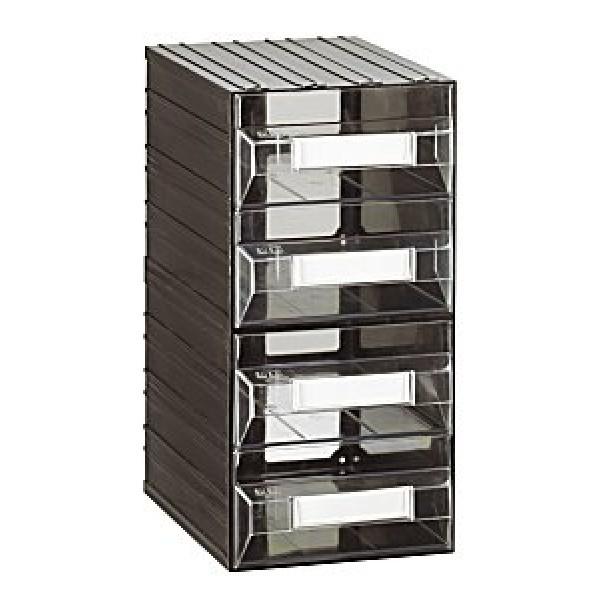 Cassettiere Componibili In Plastica.Cassettiera A 4 Cassetti Plastica Trasparente