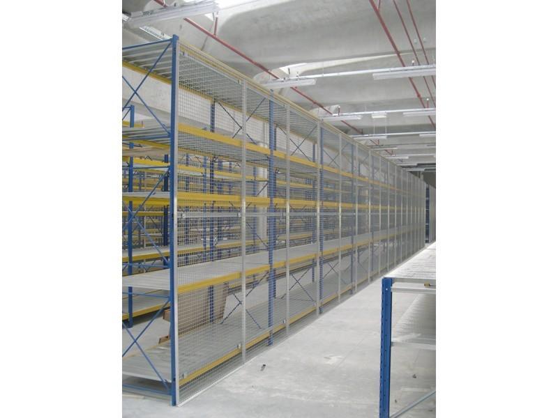 rete di protezione anticaduta per scaffalatura 6