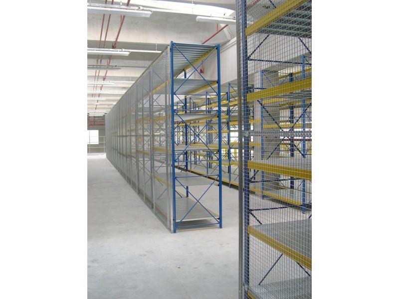 rete di protezione anticaduta per scaffalatura 8