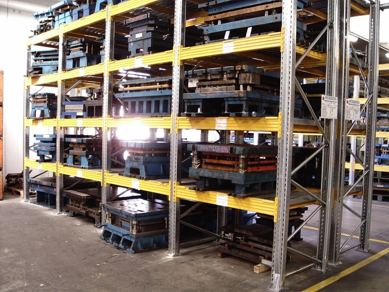 scaffalatura industriale porta pallet 15