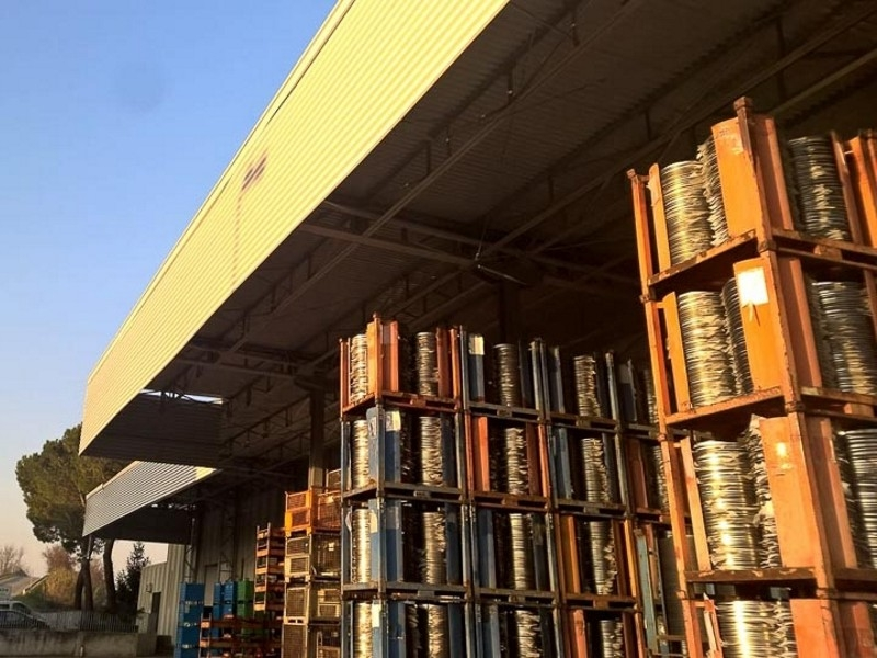 tettoia industriale da esterno 2