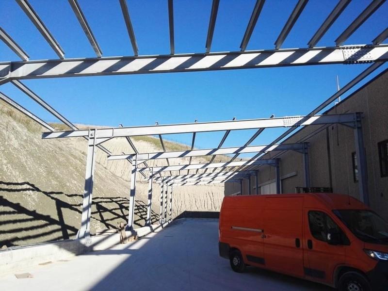 tettoia industriale da esterno 5