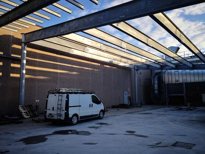 tettoia industriale da esterno 6