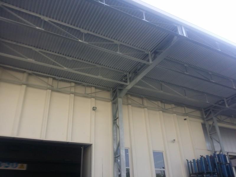 tettoia industriale da esterno 11