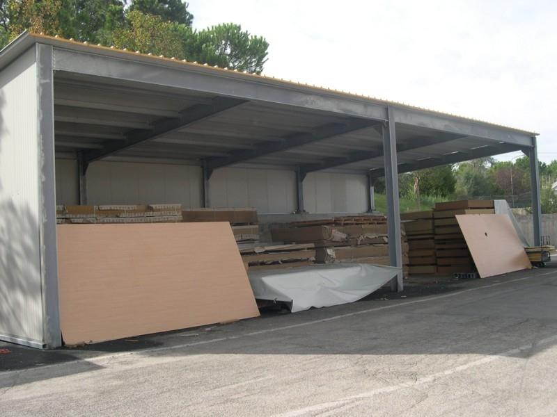 tettoia industriale da esterno 12