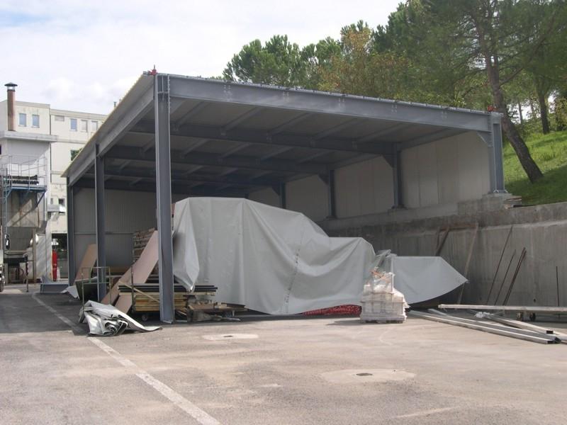tettoia industriale da esterno 14