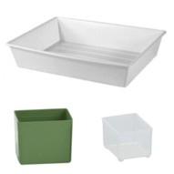 bacinelle e vaschette in plastica