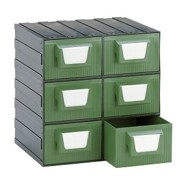 cassettiere in plastica per minuterie
