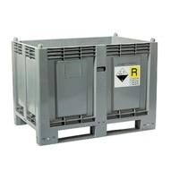 contenitori industriali per batterie esauste