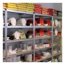 scaffalatura da magazzino zincata